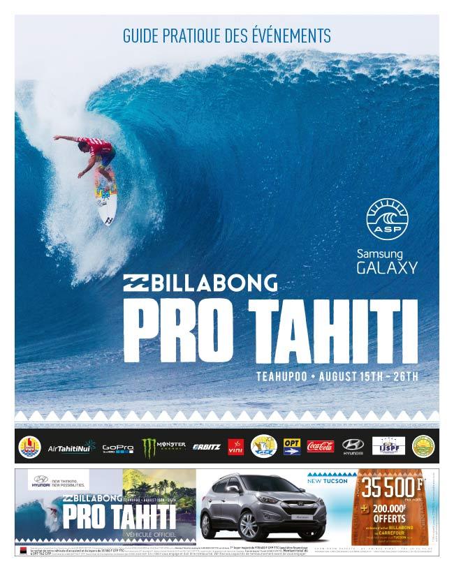 Guide de la Billabong Pro Tahiti 2014
